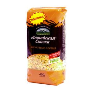 Kukurūzas pārslas ТМ «Алтайская Сказка»® 400g