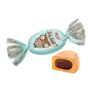 """Piena karamele ar šokolādes garšas pildījumu """"Ярче! Эллис"""" 1kg"""