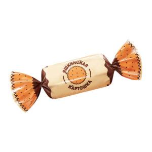 Sveramās konfektes «Яшкинская картошка» 500g