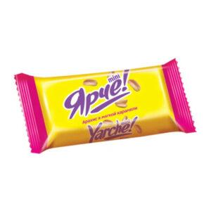 Svēramas konfektes «Ярче!» zemesrieksti mīkstā karamelē 500g
