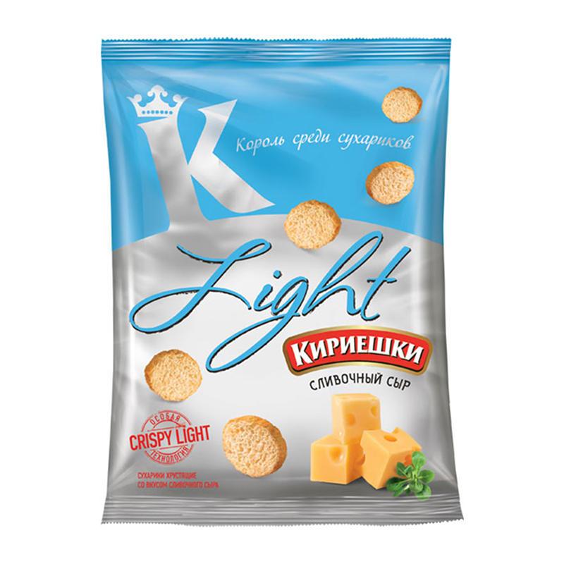«Кириешки Light» grauzdiņi ar krējumu siera garšu 80g
