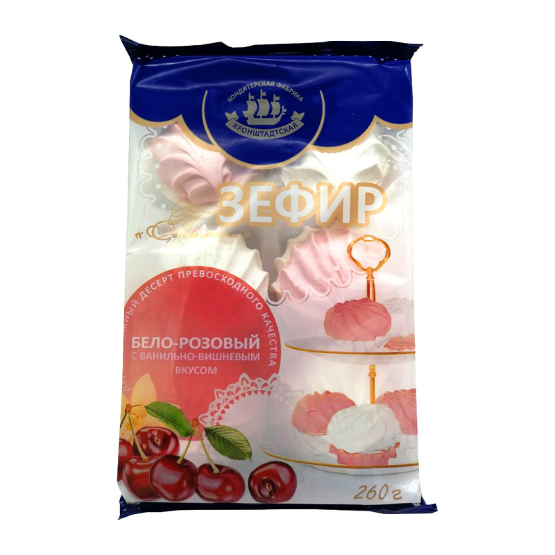"Zefīrs ""Ты мой"" balts rozā 260g"