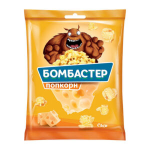 "Popkorns ""Bombaster"" ar siera garšu 35g"