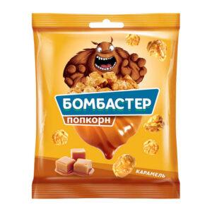 "Popkorns ""Bombaster"" ar karameles garšu 50g"