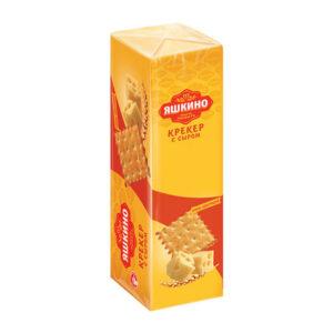 Fasēti krekeri «Яшкино» ar sieru 135g