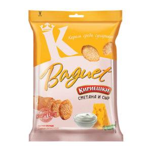 «Baguet» grauzdiņi ar skābo krējumu un siera garšu 50g