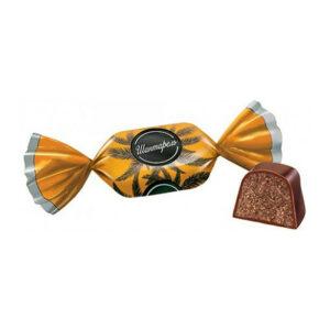 Sveramās konfektes «Шантарель» ar īru krēma garšu 1kg