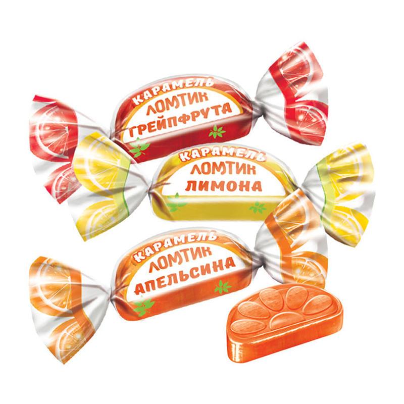 Sveramās karameles «Daiviņas ar apelsīna, citrona un greipfrūta garšu» 500g