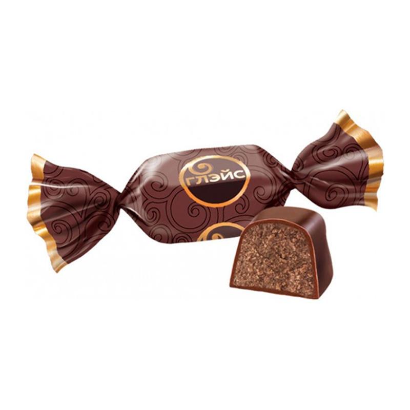 Sveramās konfektes «Глэйс» ar šokolādes garšu 500g