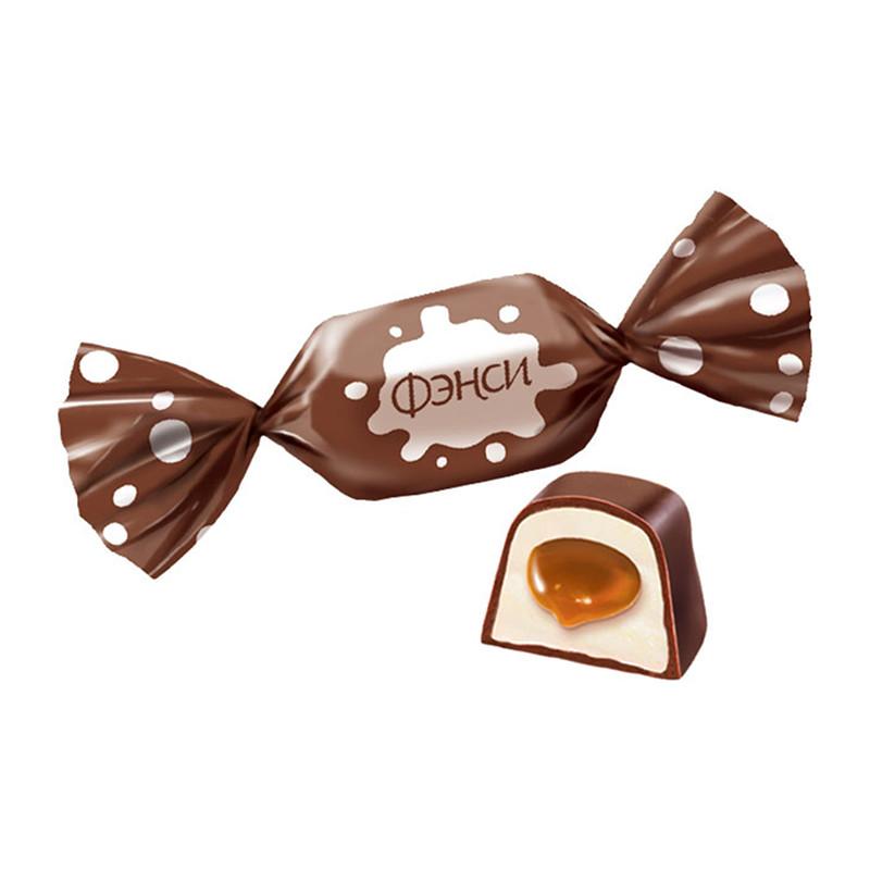 Fasētas konfektes «Фэнси» 500g