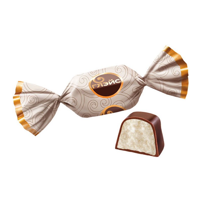 Sveramās konfektes «Глэйс» ar krējuma garšu 1kg