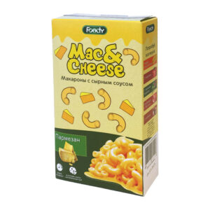 Makaroni ar parmezāna siera mērci 143g