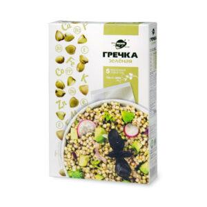 Zaļie griķi vārīšanas maisiņos (5 x 70 g) 350g