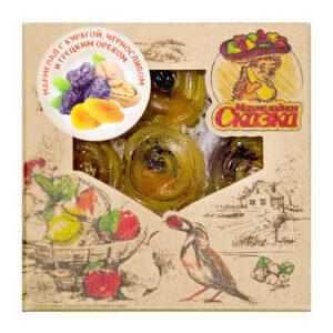 """Želejas marmelāde """"Сказка"""" ar žāvētām aprikozēm, žāvētām plūmēm un valriekstiem 300g"""