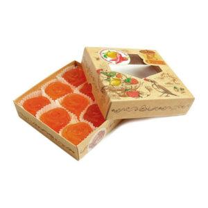Formēta želejas marmelāde ar apelsīnu un sarkanajiem pipariem 200g