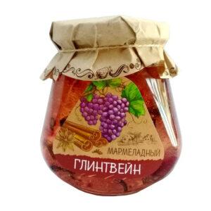 Glintveina marmelāde stikla burciņā 300g