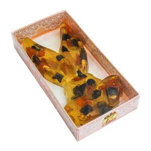 """Želejas marmelāde """"Сказка"""" zaķa formā ar žāvētām aprikozēm, žāvētām plūmēm un valriekstiem 400g"""