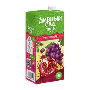 Granātābolu-vīnogu sulu saturošs dzieriens bērniem no 3 gadu vecuma 1l