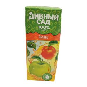 """Sulu dzēriens """"Дивный сад"""" ābols ar salmiņu 200ml"""