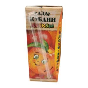 Ābolu-persiku nektārs bērniem no 3 gadu vecuma 200ml