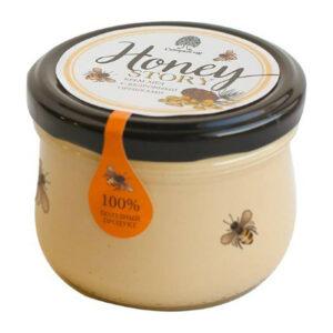 """""""Honey story"""" medus krēms ar ciedru riekstiem 220g"""