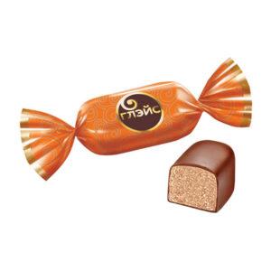 Sveramās konfektes «Глэйс» ar krēma brulē garšu 1kg