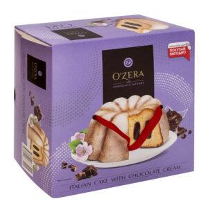 Kēkss «OZera» ar šokolādes pildījumu 520g