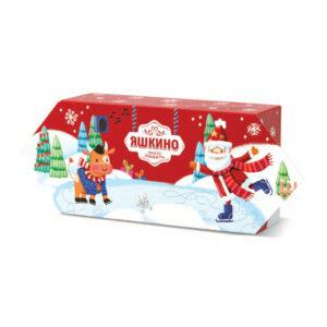 """«Яшкино» ziemassvētku saldumu dāvana """"Konfekte"""" 550g"""
