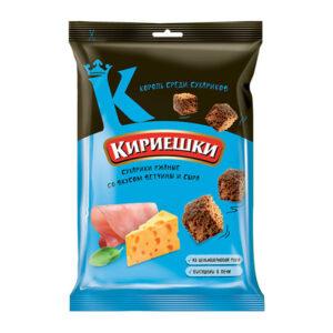 «Кириешки» grauzdiņi ar šķiņķa un siera garšu 100g