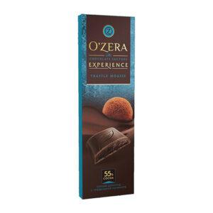 Tumša šokolāde «O`Zera» ar trifeļu pildījumu 93g