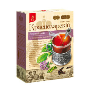 Beramā melnā tēja ar timiānu un raudeni «Краснодарскiй с 1901 года» 100g