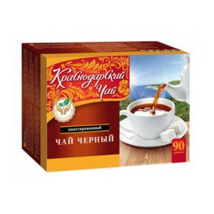 Krasnodaras melnā tēja paciņās (90 gb 2gr) 180g
