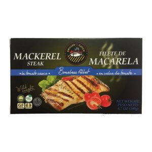 Grilēta makreles fileja tomātu mērcē 190g
