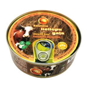 Sautēta liellopu gaļa (93%) 240g