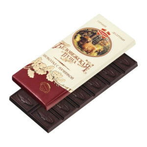 """Rūgta deserta šokolāde ar pildījumu """"Беловежская пуща"""" 100g"""