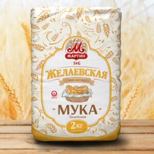 """Ekstra šķirnes kviešu milti """"Мартин Желаевская"""" 2kg"""