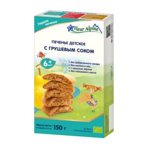 Cepumi Fleur Alpine Organic ar bumbieru sulu bērniem no 6 mēnešu vecuma 150g