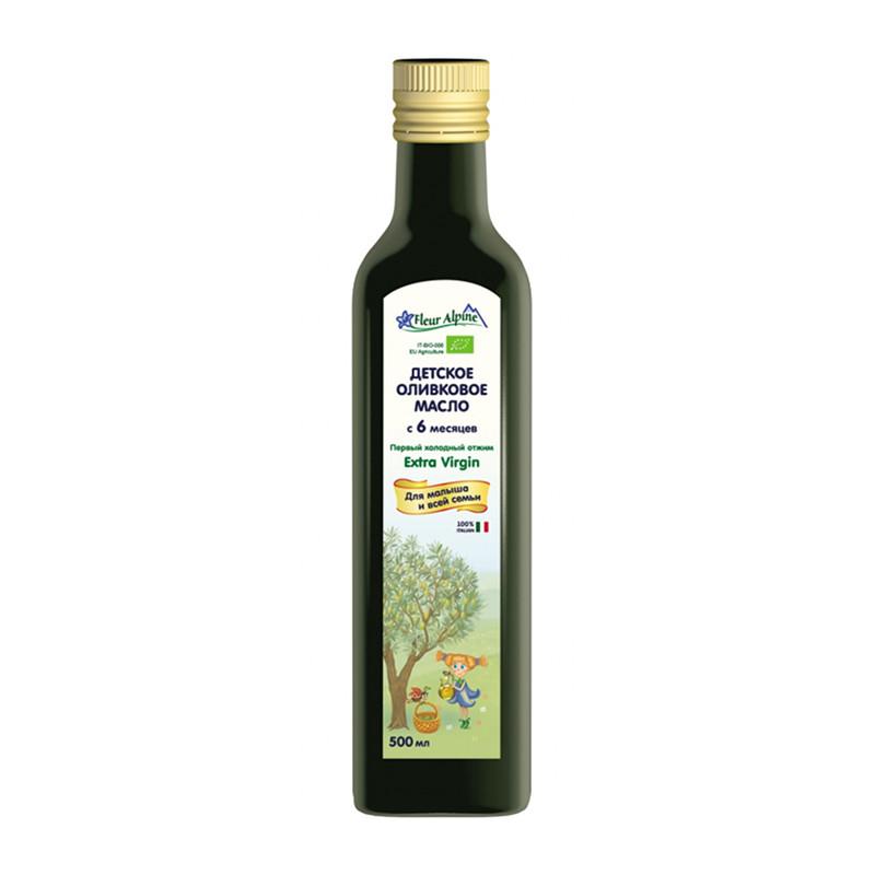 Extra virgin olīveļļa Fleur Alpine Organic bērniem no 6 mēnešu vecuma 500ml