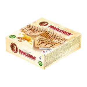 Medus torte MARLENKA ar valriekstiem 800g