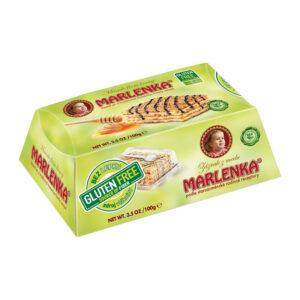 Bez glutēna medus torte MARLENKA ar valriekstiem 100g