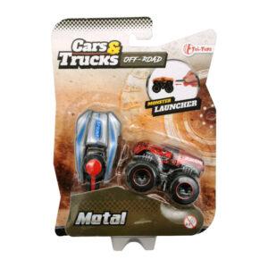 Masīnīte ar pulti Cars & Trucks (no 3 gadiem)