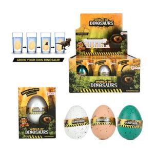 """Dinozauru inkubējamas olas """"WORLD OF DINOSAURS"""""""