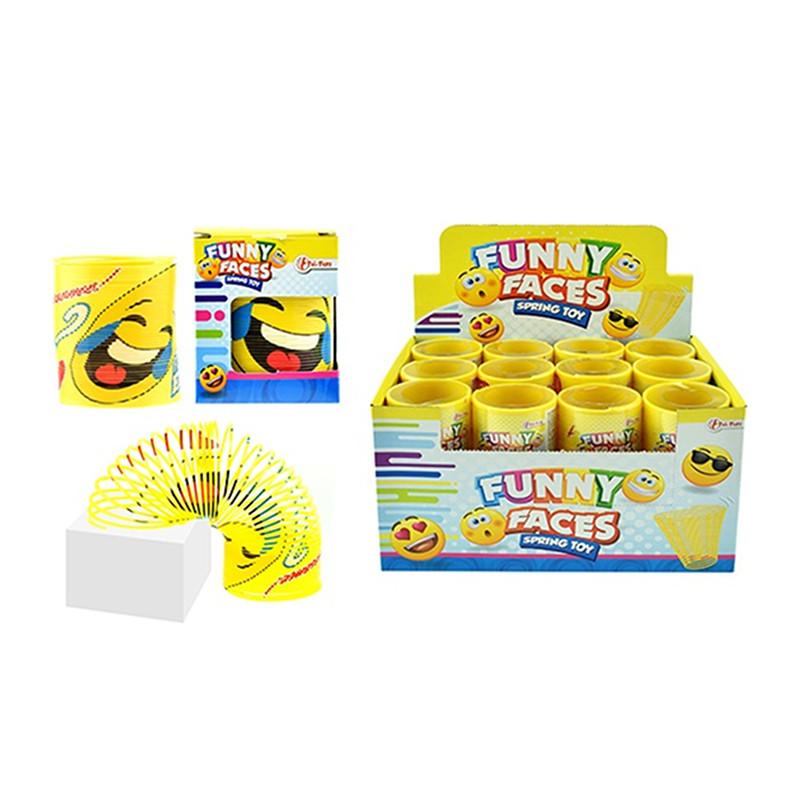 """Jauka atspere Slinky stresa noņēmējs """"FUNNY FACES"""""""