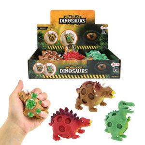 """Jauka rotaļlieta stresa noņēmējs """"WORLD OF DINOSAURS"""""""