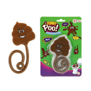 """Jauka lipīga rotaļlieta stresa noņēmējs """"FUNNY POO!"""""""