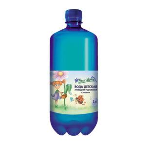 Dabiskā avota ūdens bērniem Fleur Alpine Organic 1l