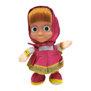 """Mīksta rotaļlieta lelle Maša no multfilmas """"Maša un lācis"""""""