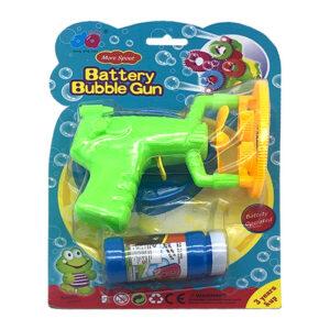Ziepju burbuļpistole Battery bubble gun bērniem no 3 gadu vecuma