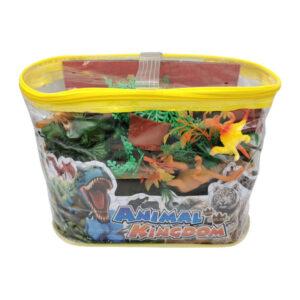 "Plastmasas dinozauru figūru komplekts ""ANIMAL KINGDOM"""