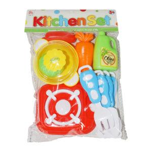"""Rotaļlietu komplekts pavāram """"Kitchen set"""" (no 3 gadiem)"""